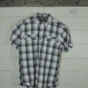 Eddie Bauer outdoor button down casual shirt